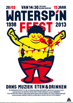 Waterspin-poster